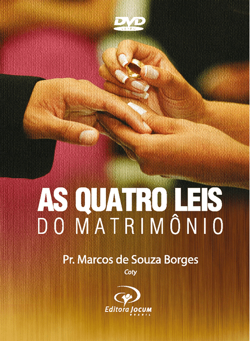 DVD As Quatro Leis do Matrimônio – Pr. Coty
