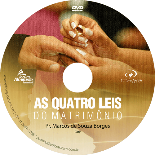 CD As Quatro Leis do Matrimônio – Pr. Coty