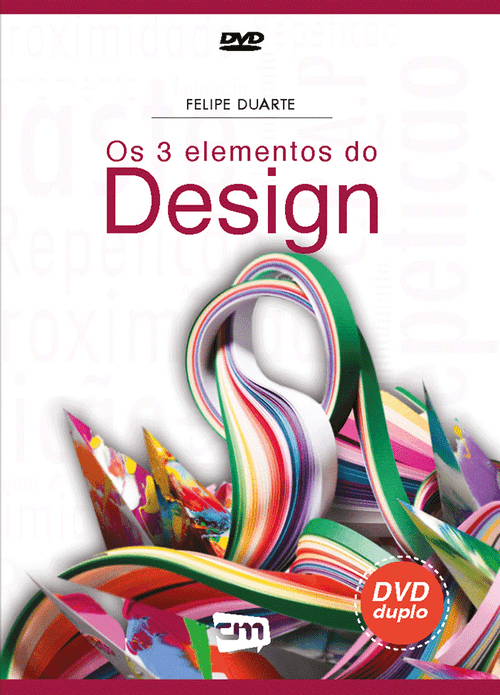 DVD Os 3 Elementos do Design - Felipe Duarte
