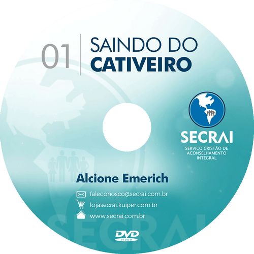 KIT CD Saindo do Cativeiro – Alcione Emerich